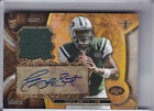 2013 TRIPLE THREADS #TTRAR-GS GENO SMITH AUTOGRAPH ROOKIE RC JERSEY JETS 24 99