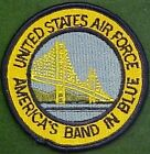 U. S. Air Force America's Band in Blue Patch