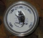 RARE !  2004 ~.999 SILVER ~1~OZ ~ YEAR of the MONKEY ~ PERTH MINT ~RARE~ $109.99