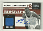 Russell Westbrook 2010-11 Panini National Treasures Auto Autograph Jersey 25
