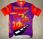 Vintage 2000 10th Annual Texas Hell Week VOLER Bicycling Jersey Sz M