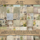 Idea ology Stash Paper Pad 12x12 36pgs Double Sided Wallflower by Tim Holtz