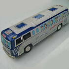 CRAGSTAN VINTAGE TIN TOY GREYHOUND BUS   MADE IN JAPAN