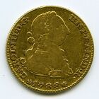 1788 Spanish 2 Escudos Charles III Crown M .875 Fine Gold Coin  NO RESERVE