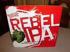 SAM ADAMS REBEL WEST COAST STYLE IPA METAL SIGN BOSTON BEER COMPANY SIGN RARE