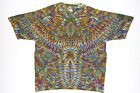 Adult TIE DYE Phoenix Blotter T Shirt small medium large XL hippie trippy art
