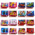 Frozen,Snow white,McQueen,Tomas,Kitty,Dora,Spider Man ETC.. Wallets(47 colours)