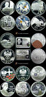 2002 POLISH SILVER COINS ANNUAL SET - POLISH SILVER COLLECTORS COINS SET