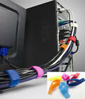 Durable 6 Velcro Straps Wire Organiser Laptop PC TV Cable Ties New Hot CB@#US35A