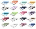 Light Cotton Turkish Towel Peshtemal Bath Hamam Sauna Beach Gym Pestemal Hammam