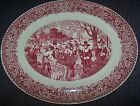 HOMER LAUGHLIN BOUNTIFUL HARVEST LARGE OVAL PLATTER - Vintage