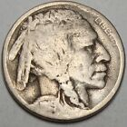 D7492 1919 D Buffalo Nickel 5 Cents Coin RARE DATE FREE SHIPPING