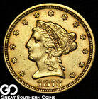 1873 Quarter Eagle, $2.5 Gold Liberty, ** Free Shipping!