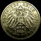 1901 A German States PRUSSIA 5 Marks KAISER WILHELM SUPER SCARCE DATE! AMAZING!