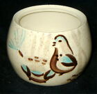 Red Wing Pottery Bob White Sugar Bowl only, no lid