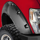 Fender Flare for Chevy Silverado 99-06 Matt Black 4pc Bolt On Pocket Rivet Style
