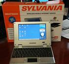 Sylvania Smartbook Netbook Computer Win CE Only used 2 hours - In Box with cords