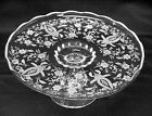 Prelude Etched Footed Cake Stand