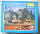 HELLRAISERS ON HALLOWEEN NIGHT~NEW~1000 PIECE JIGSAW~CHARLES WYSOCKI~RARE