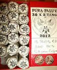 ROLL OF 20 mint fresh 2012 PURA PALU'E 1 Tang in copper, ONLY 18 ROLLS ON EARTH