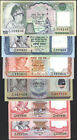 NEPAL KING GYANENDRA 1st ISSUE x 6pcs SIGNATURE #15 UNC