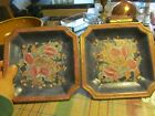 Lot of 2 Square Decorative Plates 7.25