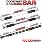 Door Home Gym Bar Exercise Workout Chin Up Pull Up Sit Fitness Iron Man Doorway