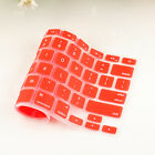 Silicone Keyboard protector Cover Skin for Apple Macbook Pro MAC Air 13 15 17 re