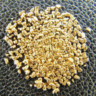 150 Alaska Gold Nuggets Placer Nuggets Bullion Flakes+ Silver Mercury Dime Coin
