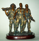 VIETNAM MEMORIAL WAR THREE SOLDIERS STATUE  Approx. 71/2