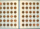 1959 - 1998 LINCOLN MEMORIAL CENT PENNY ALBUM -  UNC