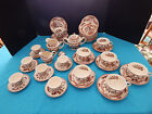 Nasco Indian Tree Fine China LOT 40+ cups, saucers, creamers, lids, bowls