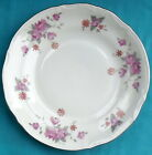 (4) Chodziez Poland BOUQUET Pattern 54185 Bread Plates, 7