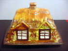 VINTAGE  ENGLISH ' BRICE'  30s  CHEESE DISH - COTTAGE  HOUSE - EXCELLENT