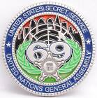 USSS Secret Service Challenge Coin 2014 UN United Nations General Assembly 69 NY