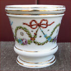 French Porcelain Flowered Gilt Tumbler Cup Sevres 19th C
