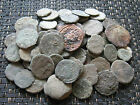 Lot of 80 Ancient Roman Uncleaned Bronze and Copper Coins Follis ( 26 )