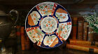 Large Antique IMARI Charger Plate Japanese Bird & Floral Motif