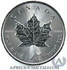 2014 1oz Canadian Silver Maple leaf coin with Micro Engraved Securit