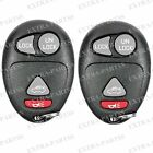 2 New Replacement Remote Keyless Entry Key Fob Transmitter Clicker Control Alarm