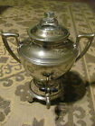 Landers & Frary Silver Plate Electric Coffee Pot-Circa 1924