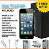 Apple iPhone 5 16GB Black Factory Unlocked Grade A + BOX and Accessories