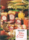 Vintage 1975 BerNARdin Lids For Mason Jars  Home Canning Guide Pickles Tomatoes+