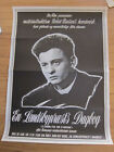 DIARY OF A COUNTRY PRIEST Original Danish movie poster 1967 Robert Bresson