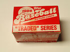 1986 Topps Traded Baseball Card Complete Set NM Bonds Conseco, Bo Jackson Rookie