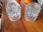 Sklo Union Frantisek Candle wax design pair hard to find Candlesticks Holders