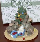 Fitz & Floyd Charming Tails MERRY CHRISTMAS FROM OUT HOUSE TO YOURS w/Box 87/622