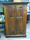Antique Primitive Southern Corner Cabinet (Walnut & Pine) circa 19th Century