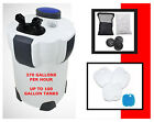 SUNSUN HW303B PRO CANISTER FILTER KIT W/ U.V STERILIZER, 370GPH 100 GALLONS.