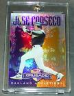 1998 JOSE CANSECO DONRUSS CRUSADE PURPLE #37 074 100 A'S SHARP